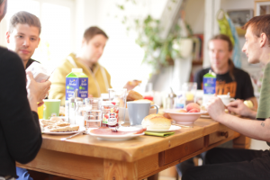 Frühstück bei soliton gGmbH